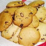 Εύκολα μπισκότα με μέλι, σταφίδες