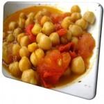 Ρεβίθια Με Λαχανικά Και Κάρυ