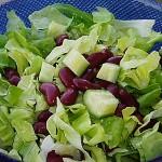 Σαλάτα με κόκκινα φασόλια