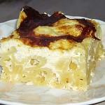 Ζυμαρικά φούρνου με τυριά