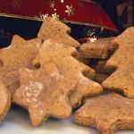 Χριστουγεννιάτικα μπισκότα με λεμπκούχεν (lebkuchen)
