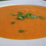 Καροτόσουπα με κάρι