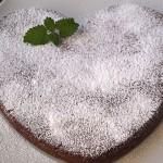 Νηστίσιμο κέικ σοκολάτα με κρασί