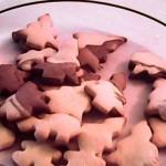 Μπισκότα Χριστουγεννιάτικα δίχρωμα
