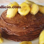 Σοκολατένιες τηγανίτες με μπανάνα