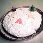 Αφράτη βασιλόπιτα κέικ