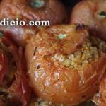Ντομάτες γεμιστές με πλιγούρι