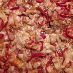 Πίτσα με κοτόπουλο