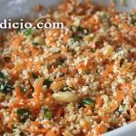 Σαλάτα με πλιγούρι και καρότο
