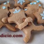 Μπισκότα τζίντζερμπρεντ (gingerbread)
