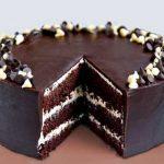 Τούρτα σοκολάτα με βουτυρόκρεμα σοκολάτας