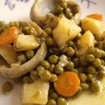 Αγκινάρες λαδερές με λαχανικά