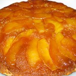 Ανάποδο κέικ με μήλο