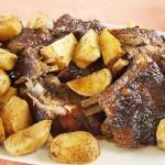 Αρνί ψητό με πατάτες