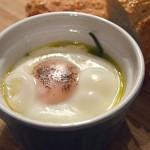 Αυγά ψητά με σπανάκι