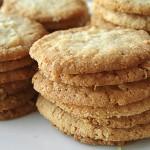 Μπισκότα βουτύρου με βρώμη