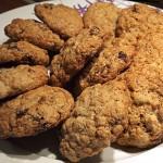 Μπισκότα με κουάκερ και λάδι