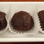 Σοκολατένια γλυκά με ινδοκάρυδο