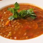 Φακές σούπα με λαχανικά και πάπρικα