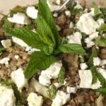 Φακές σαλάτα Λιβανέζικη