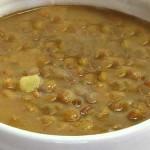 Φακές σούπα με λαχανικά