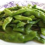 Φασολάκια πράσινα σκορδάτα