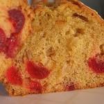 Κέικ απλό με φρούτα γλασέ