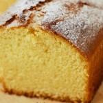 Κέικ λεμόνι με καλαμποκάλευρο