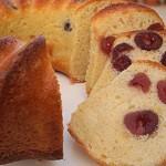 Κέικ με κεράσι και τυρί κρέμα