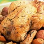 Κοτόπουλο φούρνου με πατάτες