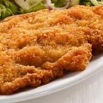 Κοτόπουλο σνίτσελ με μουστάρδα