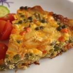 Ομελέτα στο φούρνο με λαχανικά