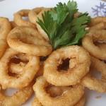 Ροδέλες κρεμμυδιού - onion rings
