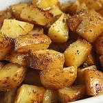 Πατάτες φούρνου με λεμόνι και ρίγανη