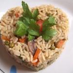 Ρύζι πιλάφι με λαχανικά