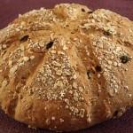 Σπιτικό ψωμί με μούσλι