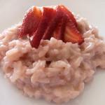Συνταγή για ριζότο με φράουλες
