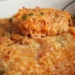 Ρύζι με ντομάτα και μπέικον