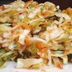 Σαλάτα λάχανο πολίτικη