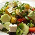 Σαλάτα μεσογειακή