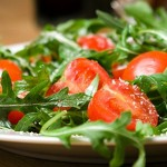 Εύκολη σαλάτα με ρόκα