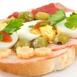 Συνταγή για ανοιχτό σάντουιτς με αυγό