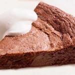 Σοκολατόπιτα χωρίς αλεύρι