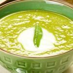 Σούπα βελουτέ με αρακά