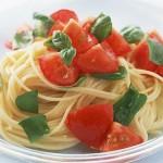 Συνταγή για σπαγγέτι με φρέσκια ντομάτα