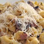 Τορτελίνια με μανιτάρια