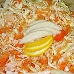 Σαλάτα λάχανο ανάμεικτη