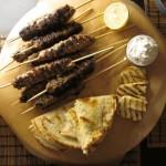 Συνταγή από Jenny για Μοσχαρίσιο kebab και πικάντικη σως γιαουρτιού