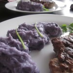 Συνταγή από Jenny για Πουρές από μικρές μωβ πατάτες (Purple mashed potatoes)
