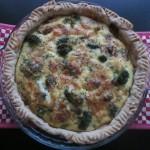 Συνταγή από Jenny για Quiche με μανιτάρια και μπρόκολο / Quiche with mushrooms a...